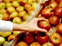 escoger manzanas